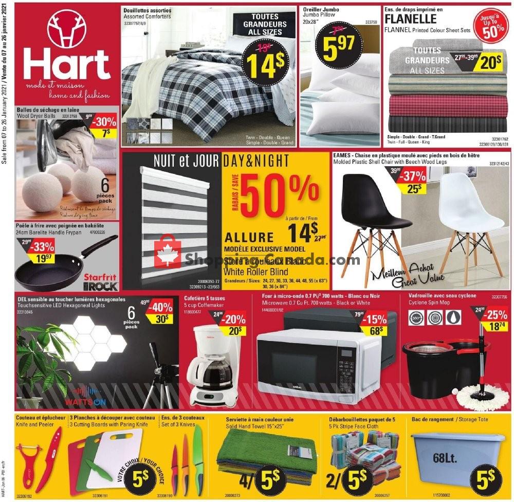 Flyer Hart Canada - from Thursday January 7, 2021 to Tuesday January 26, 2021