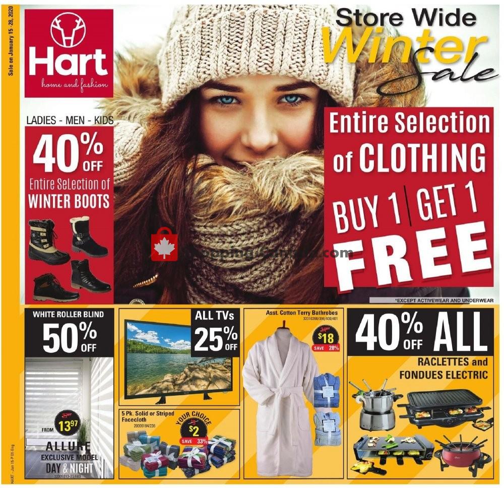 Flyer Hart Canada - from Wednesday January 15, 2020 to Tuesday January 28, 2020
