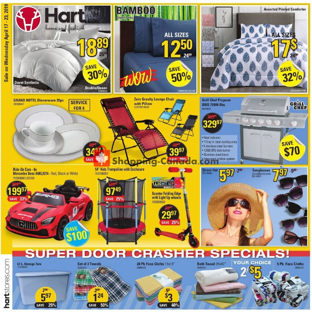 Flyer Hart Canada - from Wednesday April 17, 2019 to Tuesday April 23, 2019