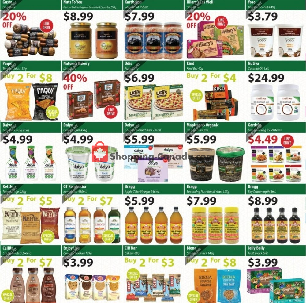 Flyer Healthy Planet Canada - from Thursday July 11, 2019 to Wednesday August 14, 2019