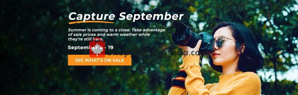 Flyer Henry's Canada - from Friday September 6, 2019 to Thursday September 19, 2019