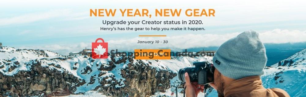 Flyer Henry's Canada - from Friday January 10, 2020 to Thursday January 30, 2020