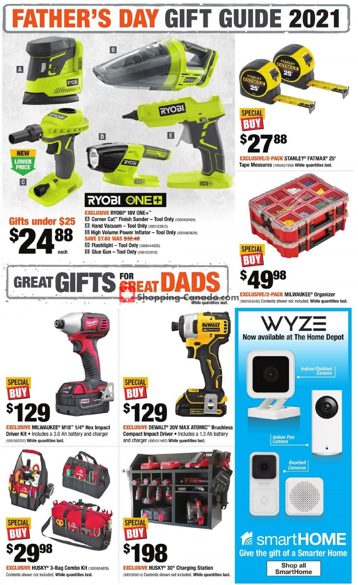Flyer Home Depot Canada - from Thursday May 27, 2021 to Wednesday June 23, 2021
