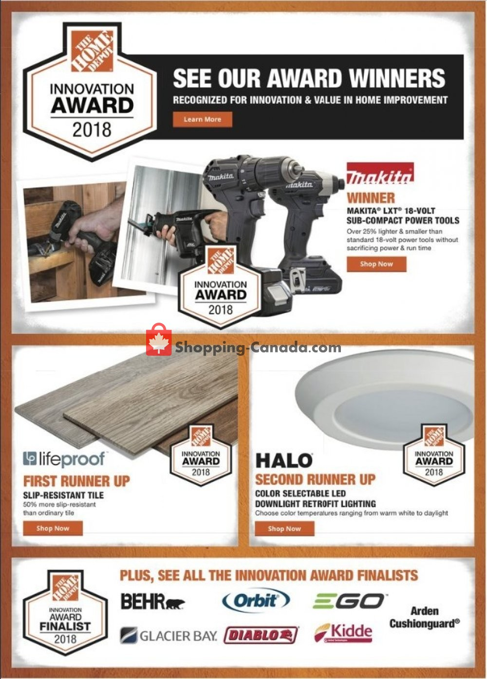 Flyer Home Depot Canada - from Monday May 13, 2019 to Thursday May 16, 2019