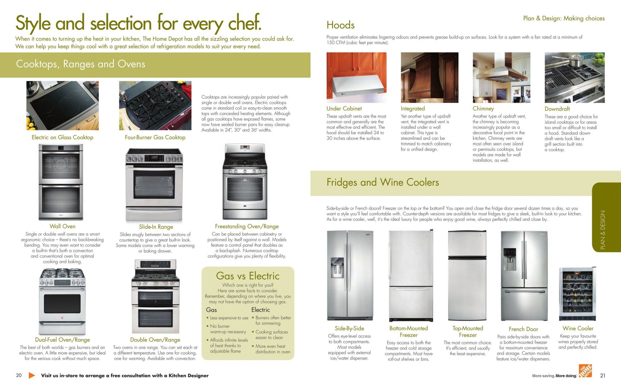 Flyer and weekly ads: Home Depot Canada - Kitchen Planning Guide ...