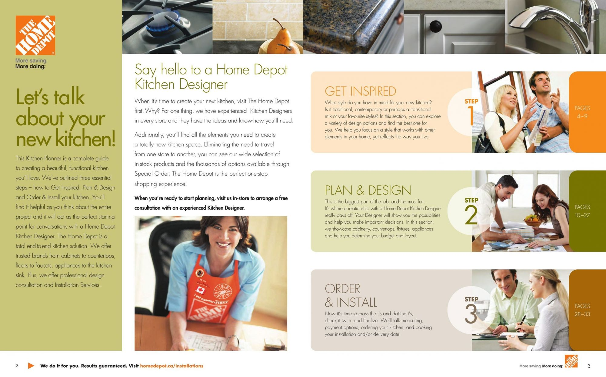Flyer Home Depot Canada - from Tuesday April 24, 2018 to Monday December 31, 2018