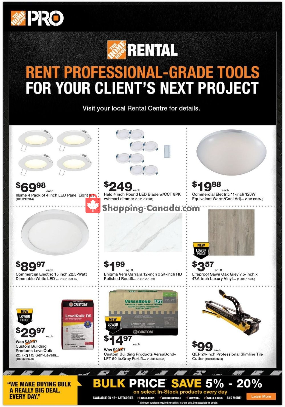 Flyer Home Depot Canada - from Tuesday December 3, 2019 to Wednesday December 18, 2019