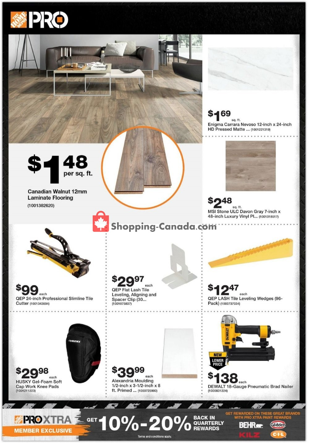 Flyer Home Depot Canada - from Tuesday January 7, 2020 to Monday January 20, 2020