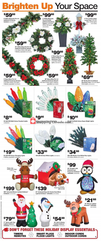 Flyer Home Depot Canada - from Thursday November 7, 2019 to Wednesday November 13, 2019