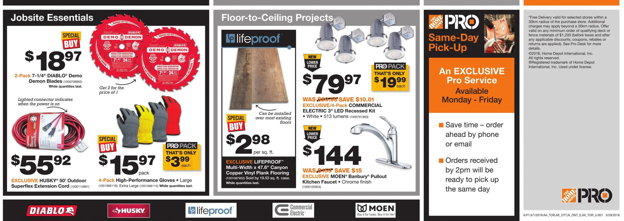 Flyer Home Depot Canada - from Tuesday May 1, 2018 to Monday May 14, 2018