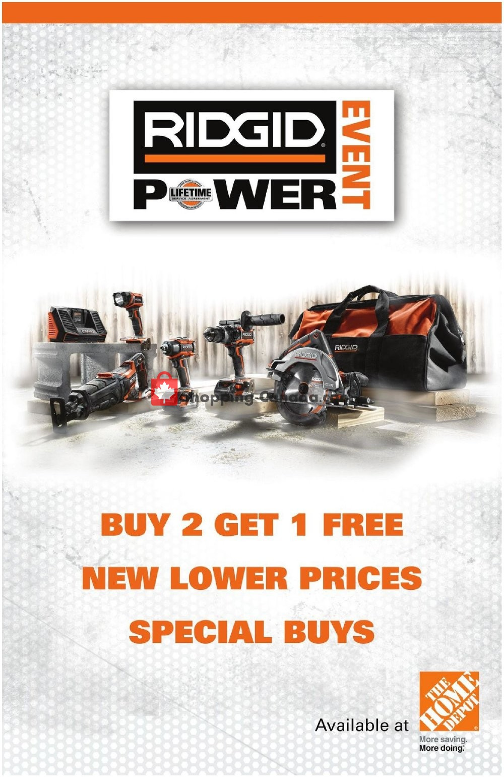 Flyer Home Depot Canada - from Tuesday March 12, 2019 to Monday March 25, 2019