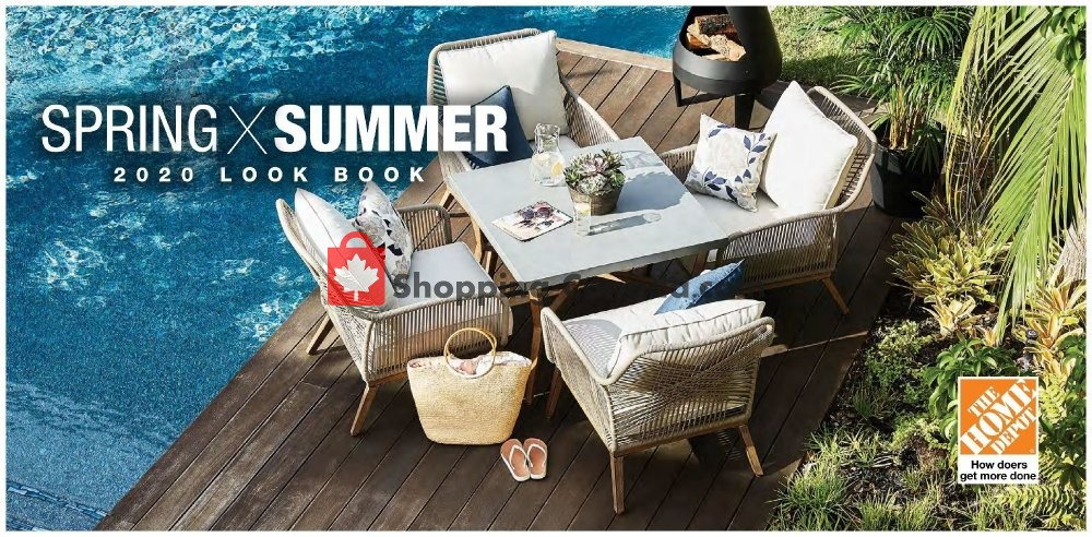 Flyer Home Depot Canada - from Friday May 15, 2020 to Wednesday September 30, 2020