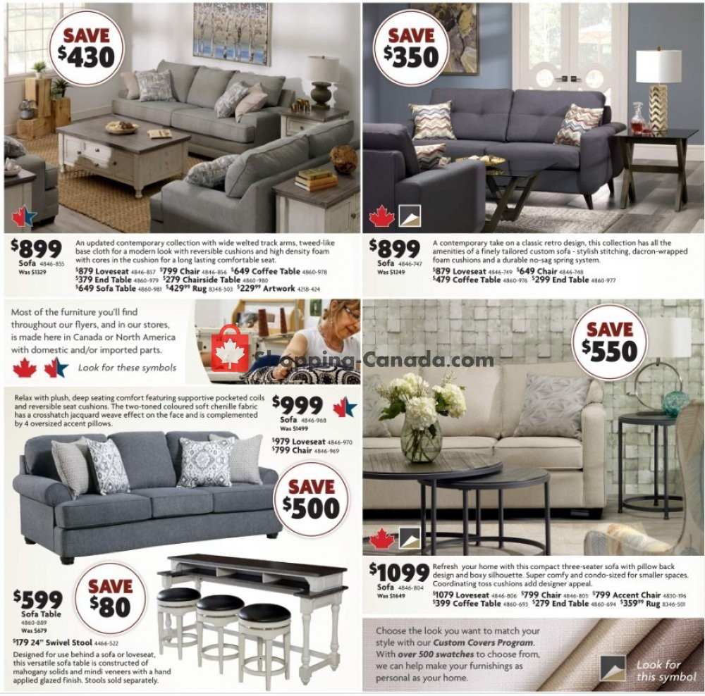 Flyer Home Furniture Canada - from Thursday November 7, 2019 to Sunday November 17, 2019