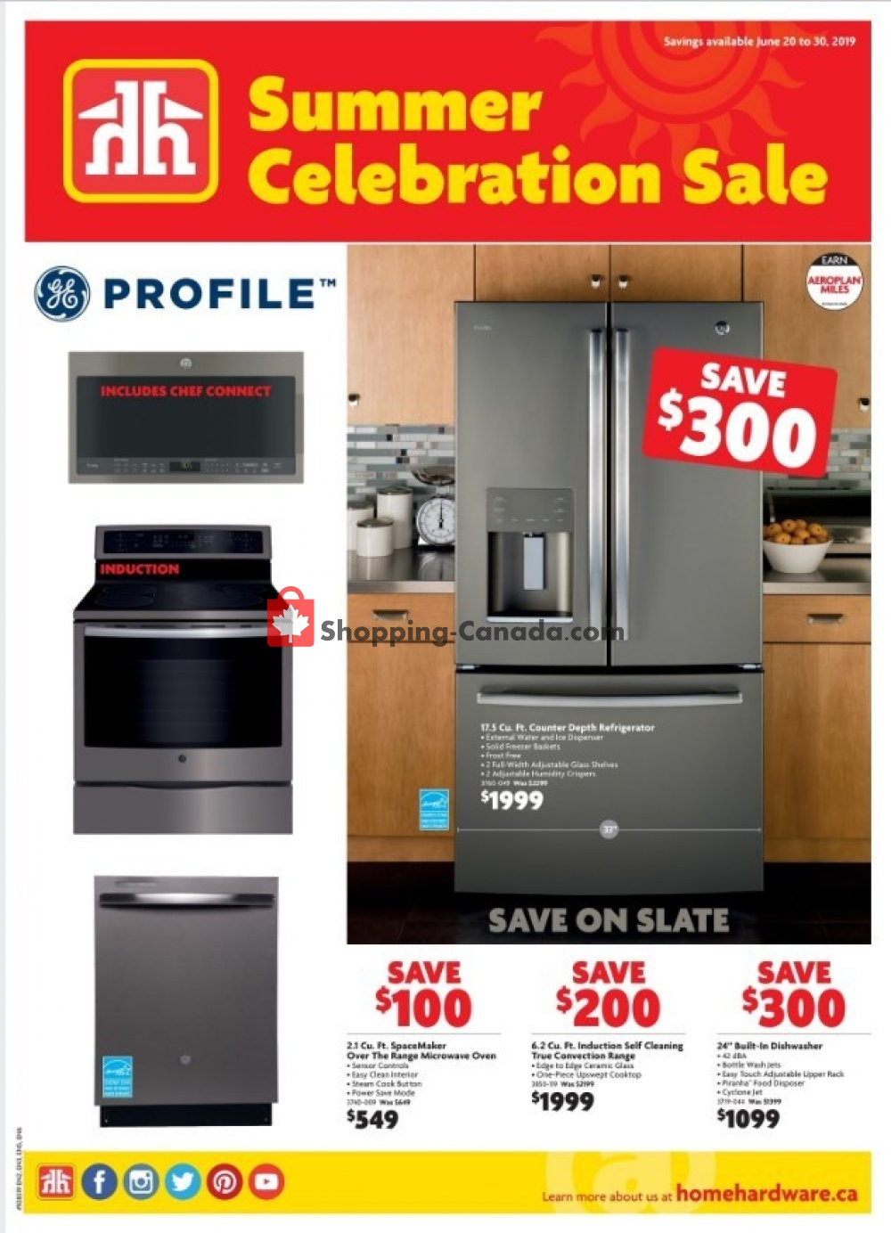 Flyer Home Furniture Canada - from Thursday June 20, 2019 to Sunday June 30, 2019