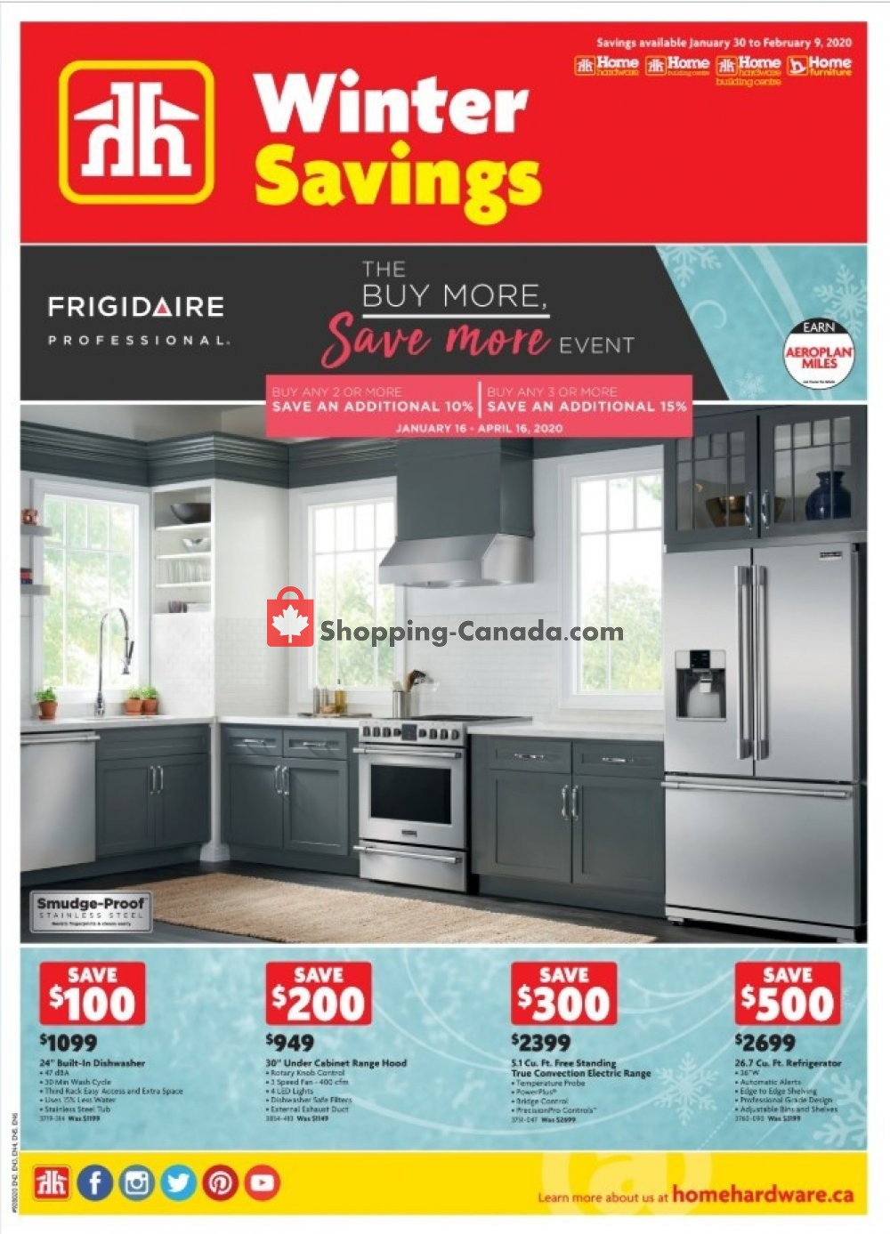 Flyer Home Furniture Canada - from Thursday January 30, 2020 to Sunday February 9, 2020