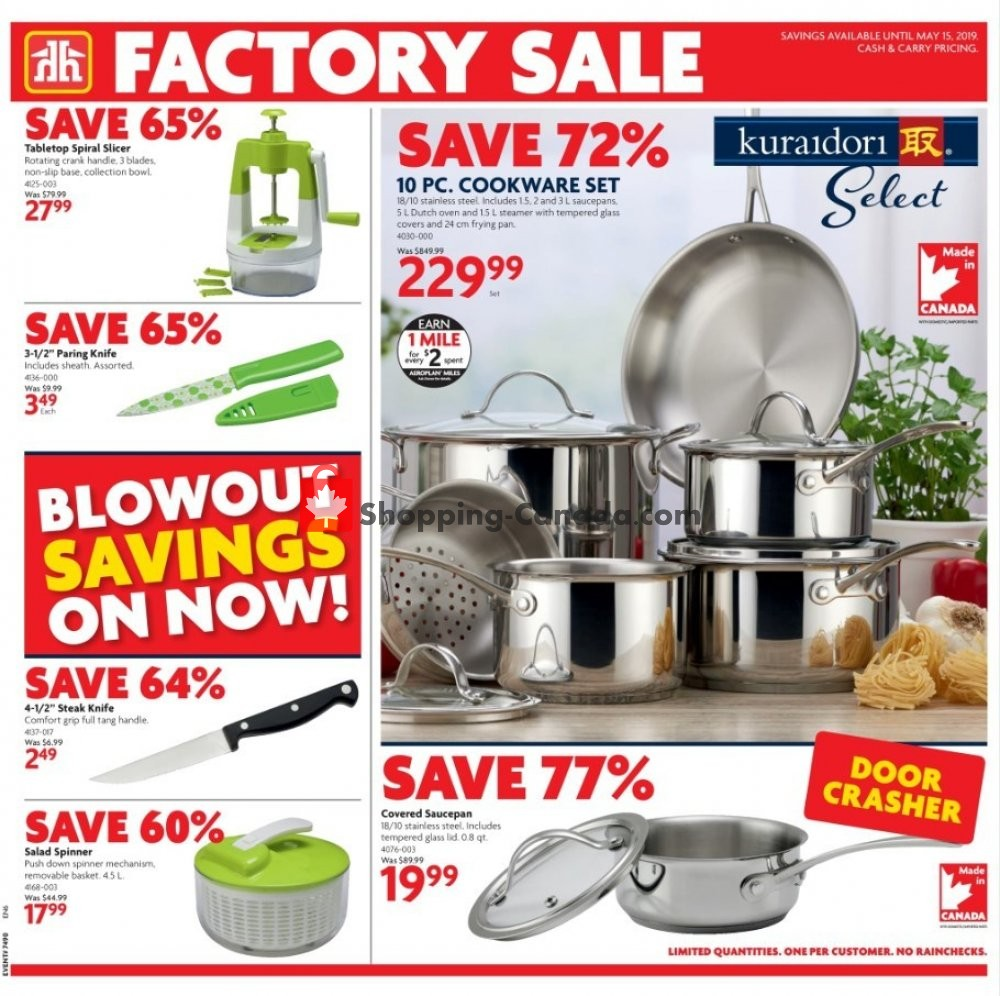 Flyer Home Hardware Canada - from Thursday May 2, 2019 to Wednesday May 15, 2019