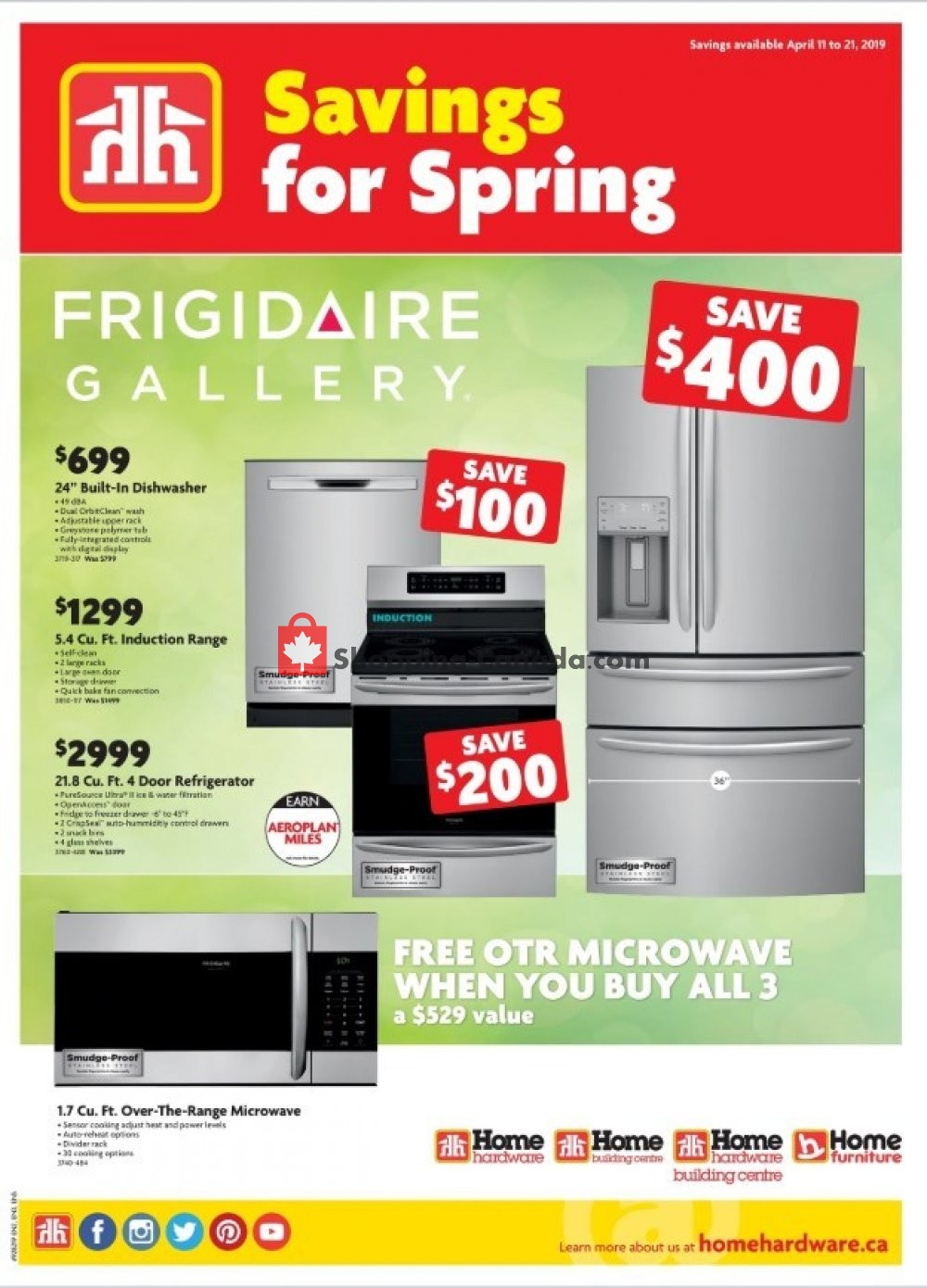 Flyer Home Hardware Canada - from Thursday April 11, 2019 to Sunday April 21, 2019