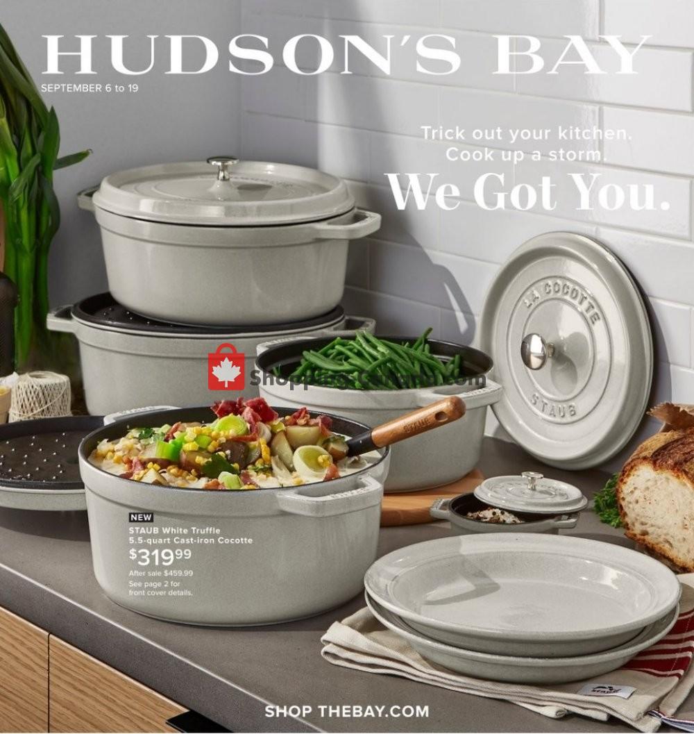 Flyer Hudson's Bay Canada - from Friday September 6, 2019 to Thursday September 19, 2019