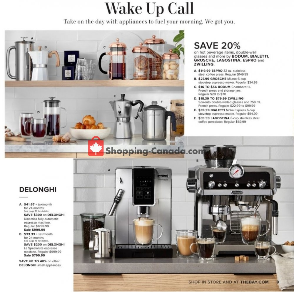 Flyer Hudson's Bay Canada - from Friday September 6, 2019 to Thursday September 19, 2019