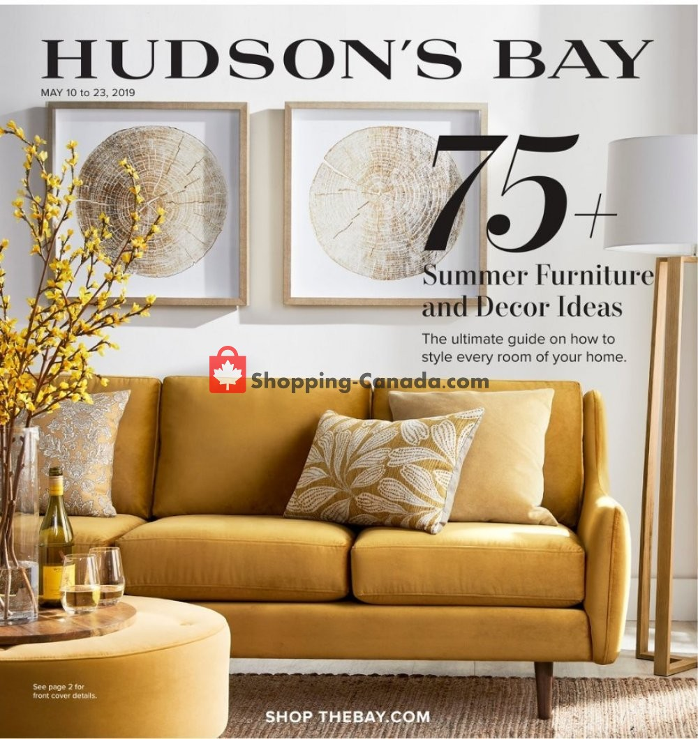Flyer Hudson's Bay Canada - from Friday May 10, 2019 to Thursday May 23, 2019