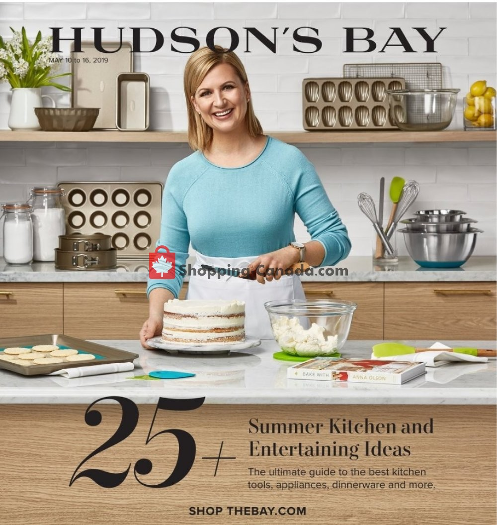 Flyer Hudson's Bay Canada - from Friday May 10, 2019 to Thursday May 16, 2019