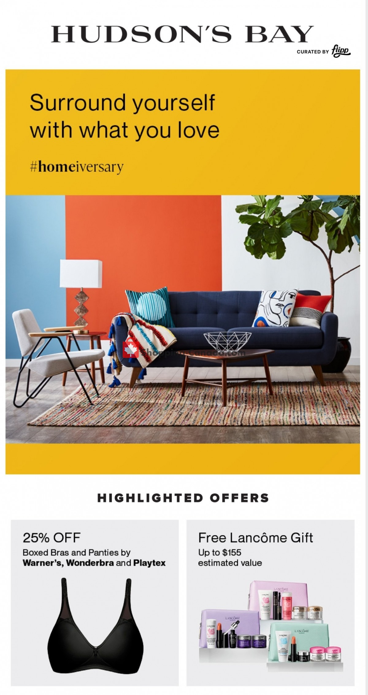 Flyer Hudson's Bay Canada - from Wednesday April 7, 2021 to Thursday April 15, 2021