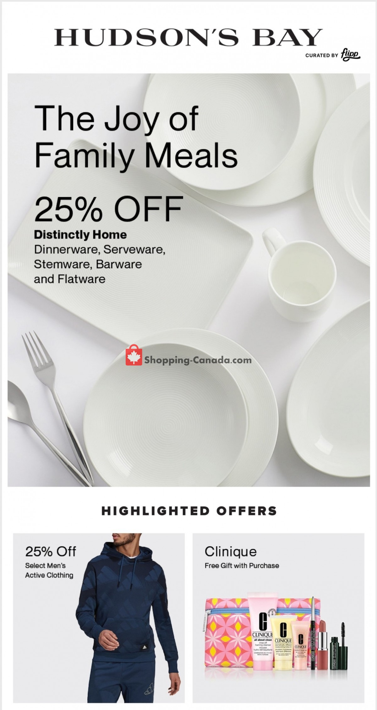Flyer Hudson's Bay Canada - from Friday March 12, 2021 to Thursday March 18, 2021