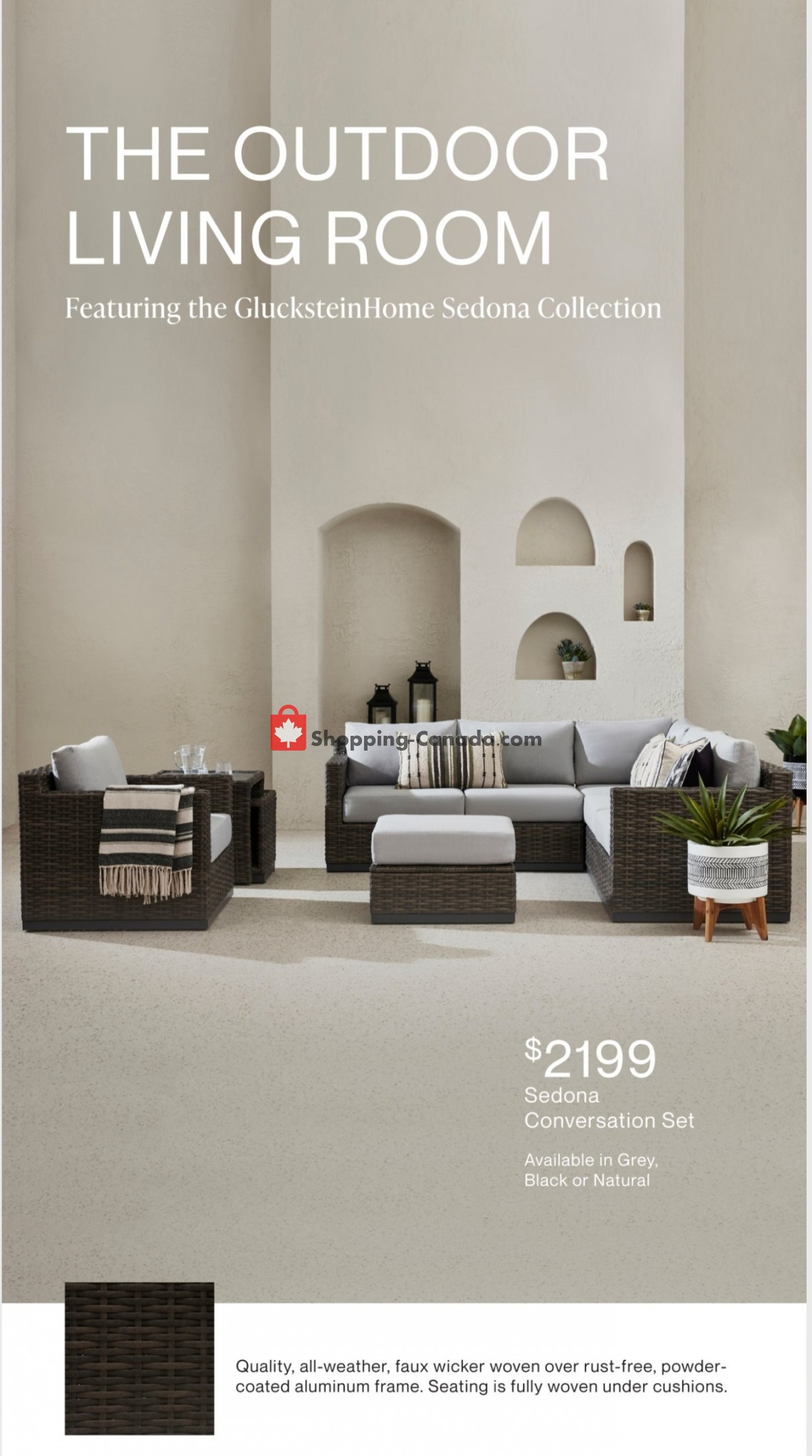 Flyer Hudson's Bay Canada - from Friday March 12, 2021 to Friday April 16, 2021