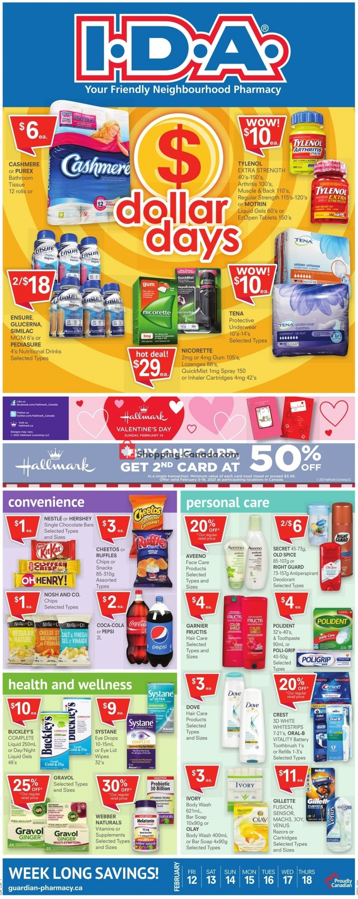 Flyer I.D.A. Canada - from Friday February 12, 2021 to Thursday February 18, 2021