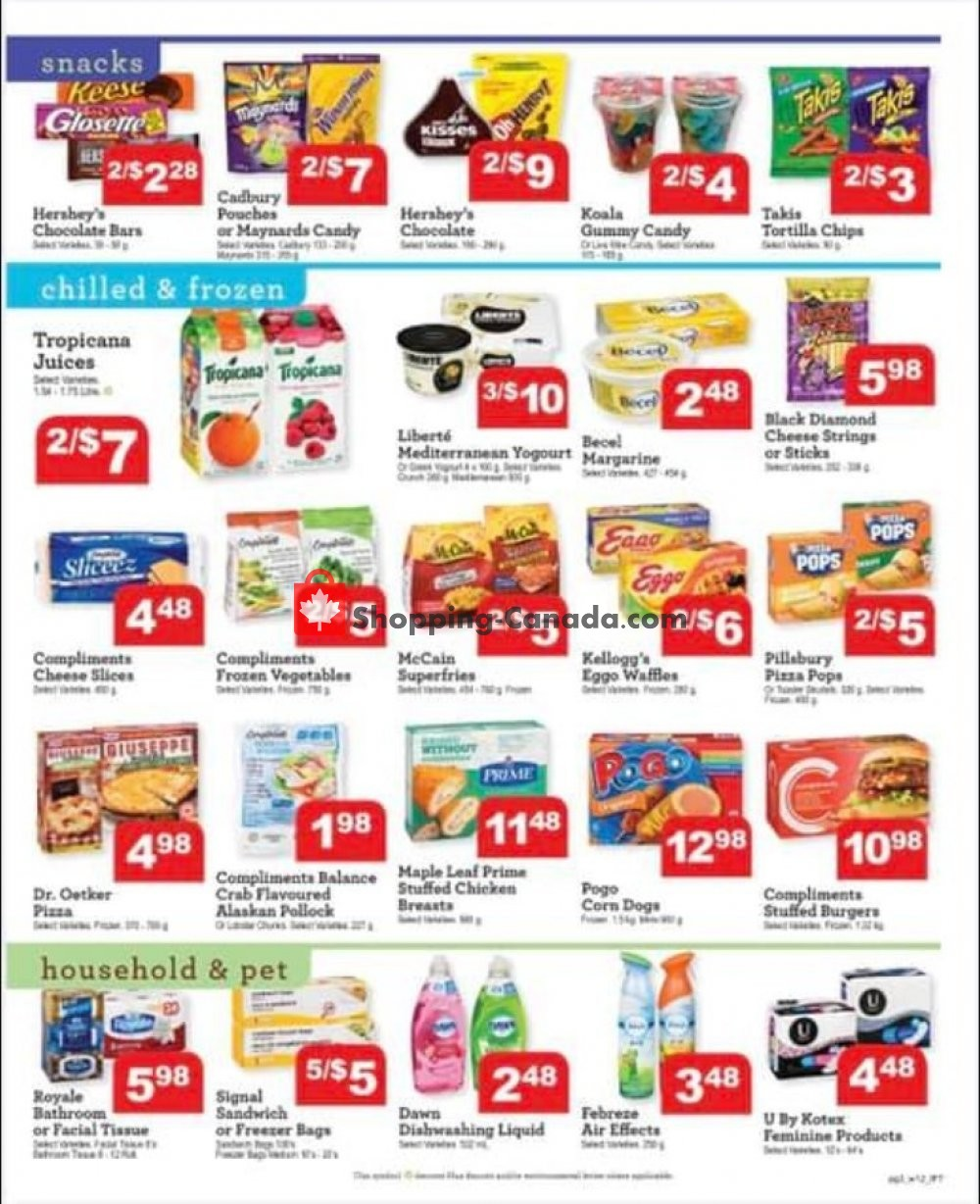 Flyer IFT Independent Food Town Canada - from Friday July 19, 2019 to Thursday July 25, 2019