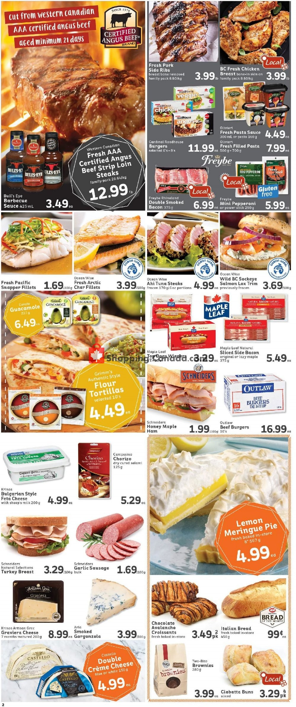 Flyer IGA Extra Canada - from Friday July 12, 2019 to Thursday July 18, 2019