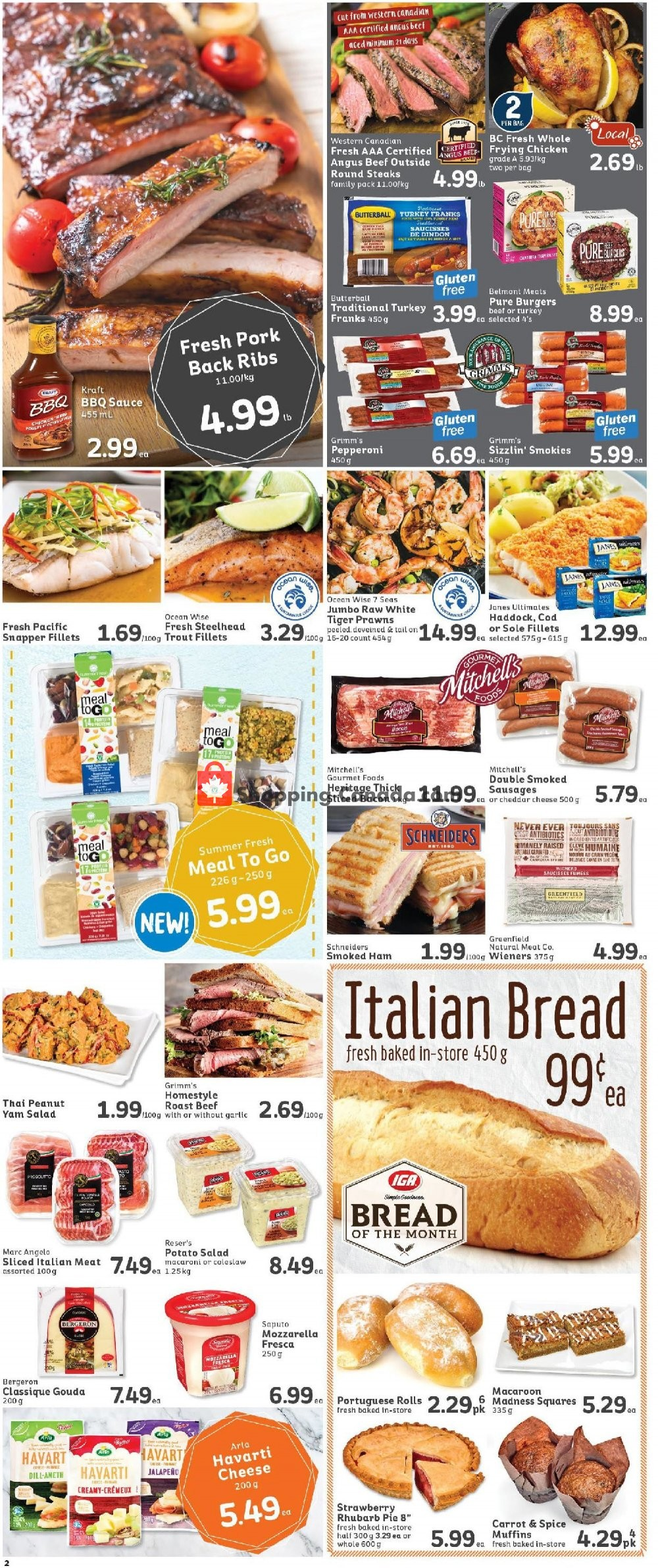 Flyer IGA Extra Canada - from Friday July 19, 2019 to Thursday July 25, 2019