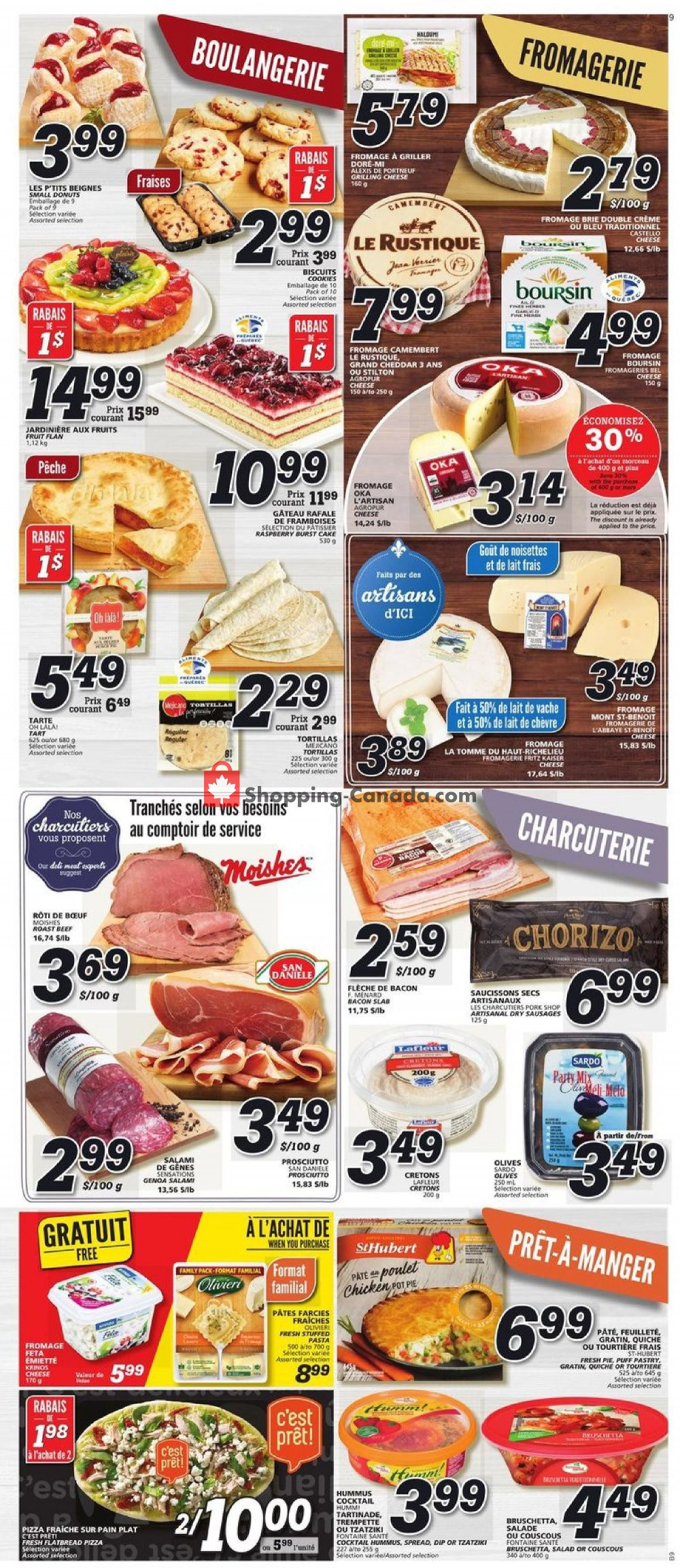 Flyer IGA Extra Canada - from Thursday July 25, 2019 to Wednesday July 31, 2019