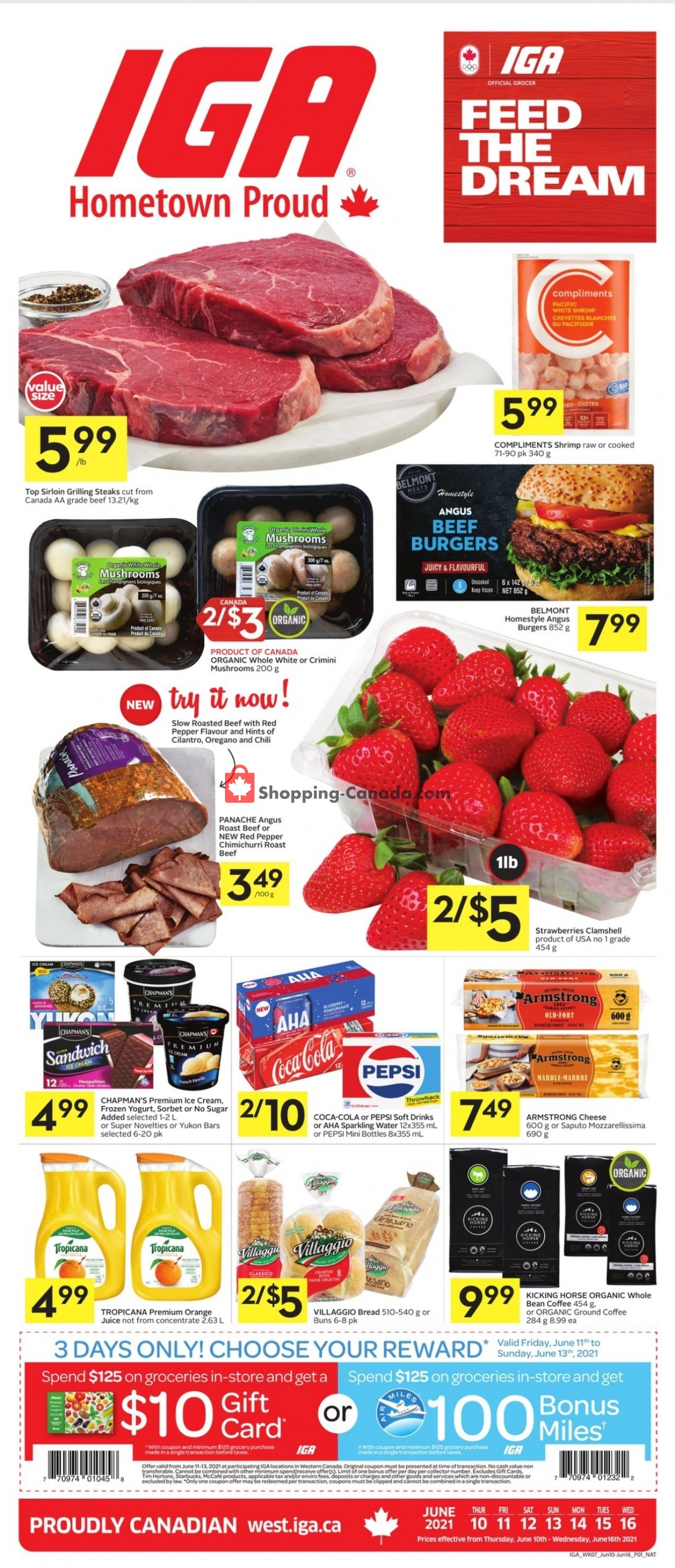 Flyer IGA Extra Canada - from Thursday June 10, 2021 to Wednesday June 16, 2021