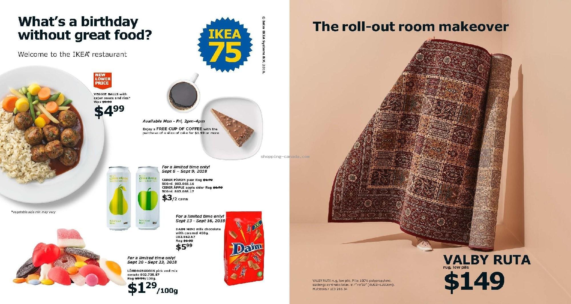 Ikea Canada Flyer Catalogue 2019 August 1 December 31 2019