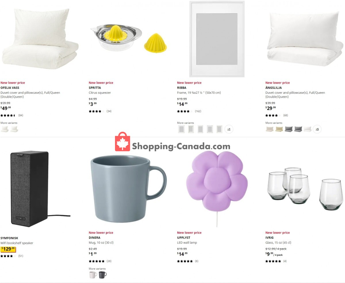 Flyer Ikea Canada - from Tuesday May 4, 2021 to Monday May 10, 2021
