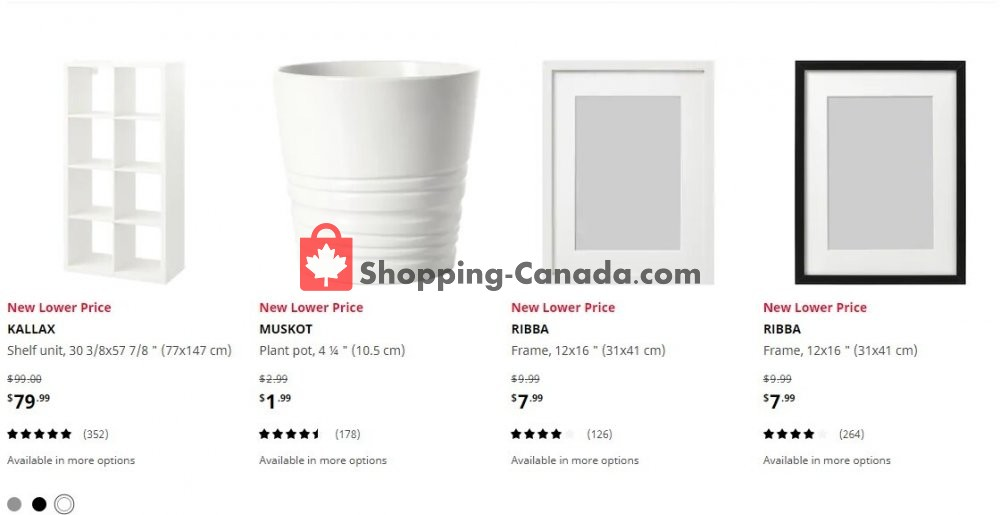 Flyer Ikea Canada - from Wednesday July 8, 2020 to Tuesday July 14, 2020