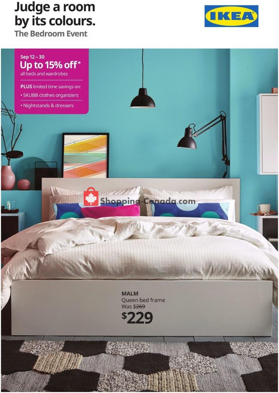 Flyer Ikea Canada - from Thursday September 12, 2019 to Monday September 30, 2019