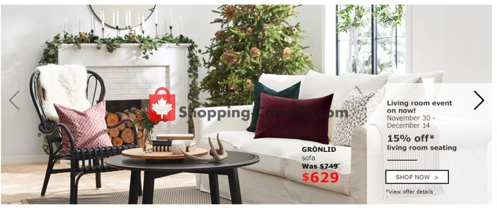 Superb Flyer Ikea Canada   From Friday November 30, 2018 To Friday December 14,  2018