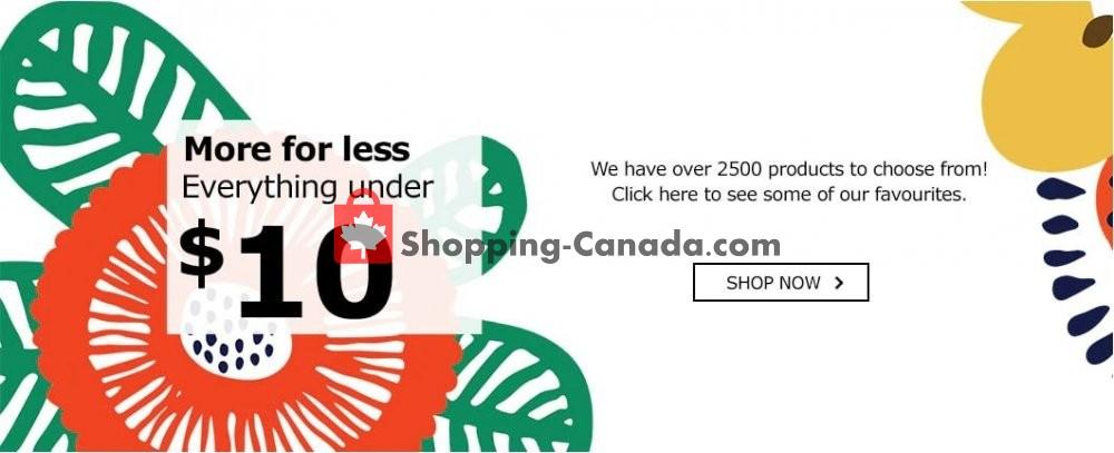 Flyer Ikea Canada - from Monday February 18, 2019 to Sunday February 24, 2019