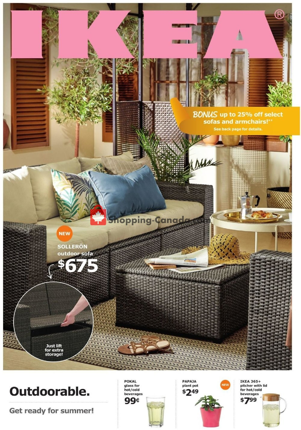 Flyer Ikea Canada - from Monday April 15, 2019 to Monday April 29, 2019