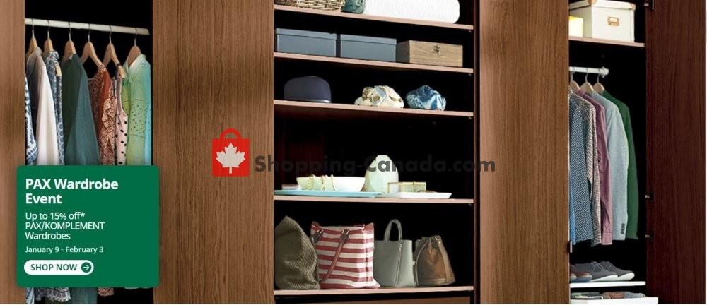 Flyer Ikea Canada - from Thursday January 9, 2020 to Monday February 3, 2020