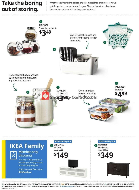 Flyer Ikea Canada - from Thursday January 9, 2020 to Monday January 27, 2020