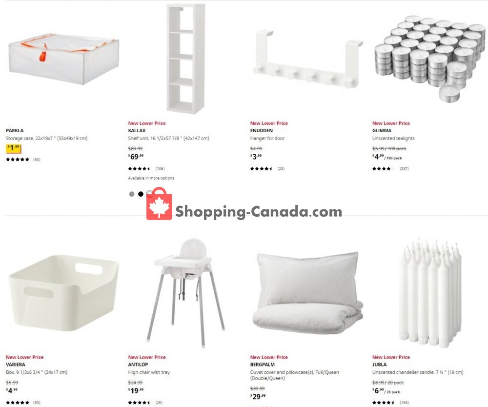Flyer Ikea Canada - from Thursday October 15, 2020 to Wednesday October 21, 2020