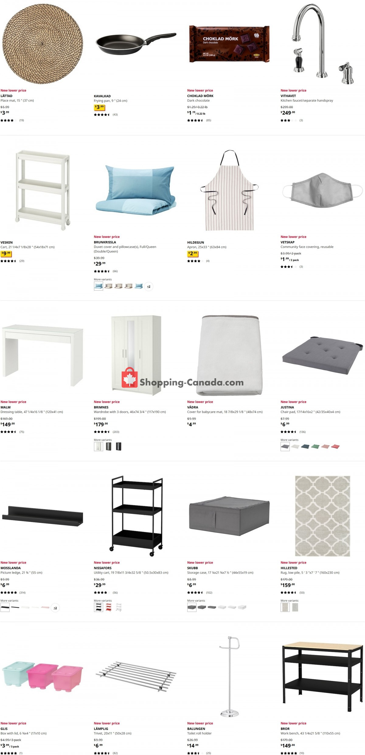 Flyer Ikea Canada - from Thursday October 7, 2021 to Wednesday October 13, 2021