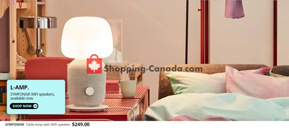 Flyer Ikea Canada - from Wednesday September 11, 2019 to Monday September 16, 2019