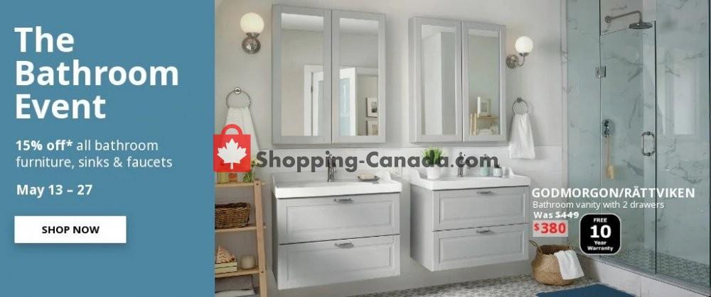 Ikea Canada Flyer The Bathroom
