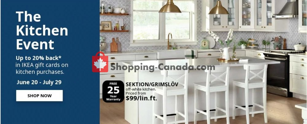 Flyer Ikea Canada - from Thursday June 20, 2019 to Monday July 29, 2019