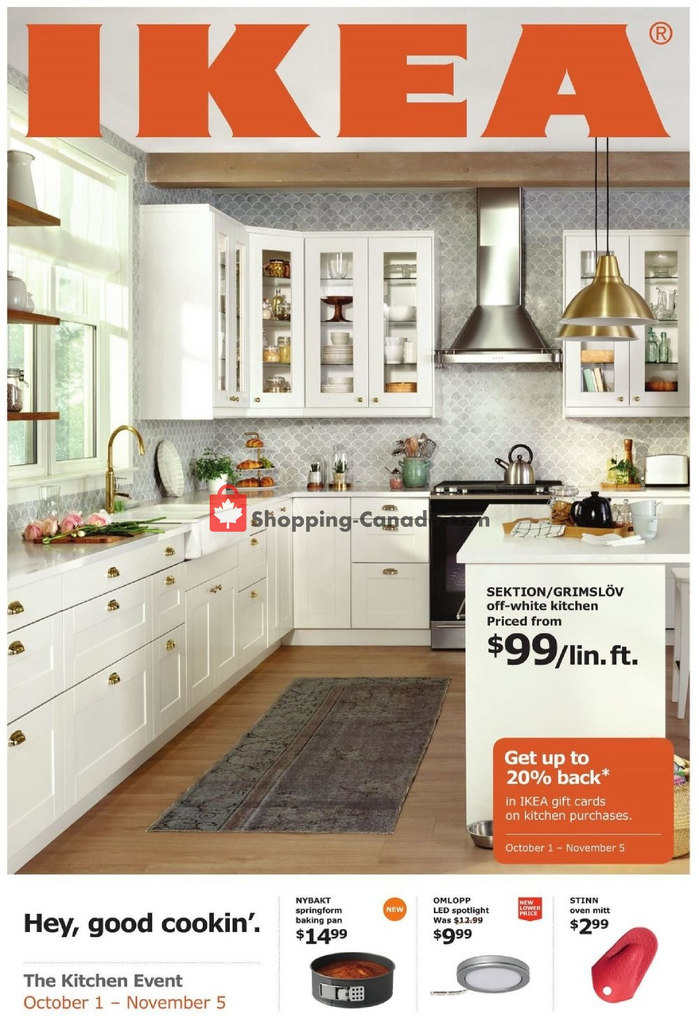 Flyer Ikea Canada - from Monday October 1, 2018 to Monday November 5, 2018