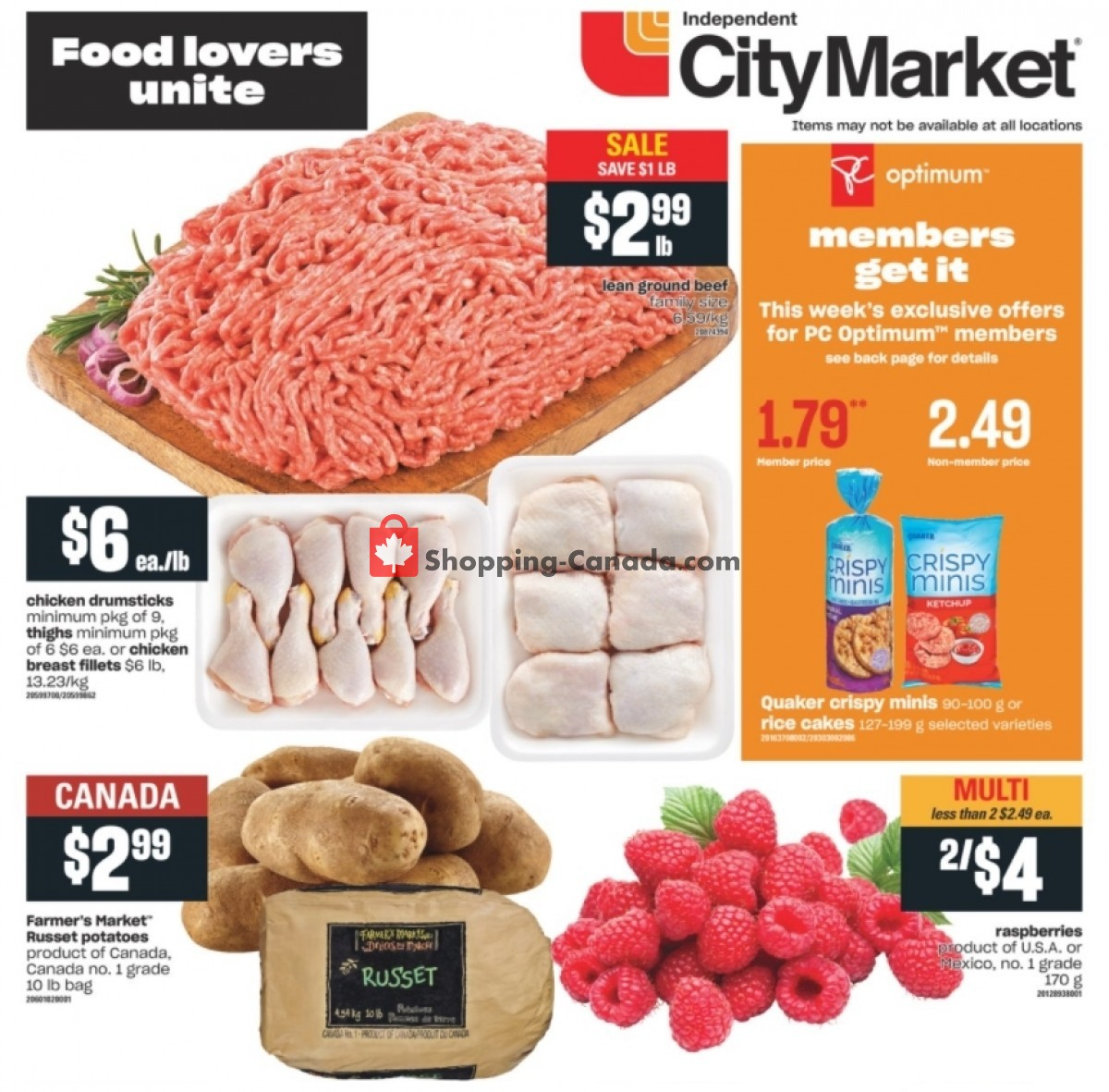 Flyer Independent City Market Canada - from Thursday April 29, 2021 to Wednesday May 5, 2021